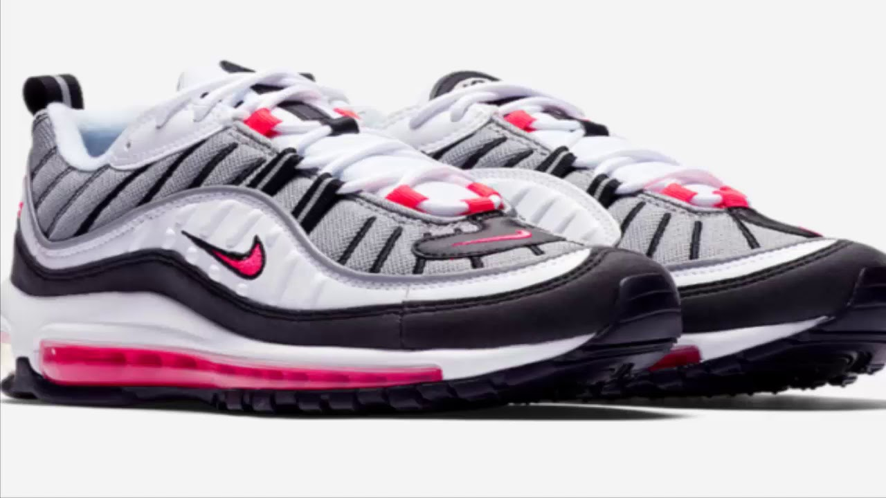 buy popular 51946 503ec Official Images: Nike WMNS Air Max 98 Solar Red