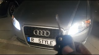 Feux Auto - Coming Leaving Home - Audi A4 B7