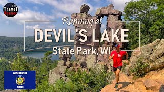 Follow along as i go for a mid-summer run at wisconsin's most popular state park, devil's lake. the lake shore path first half of befor...