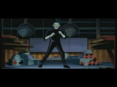 YTP Batman Beyond: Joker suffers the wraith of the FUUUUU beam