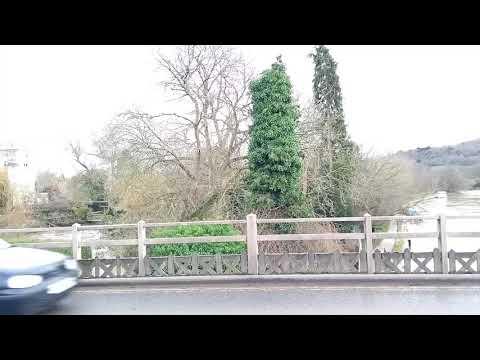 Goring & Streatly Bridge view (23.01.18)