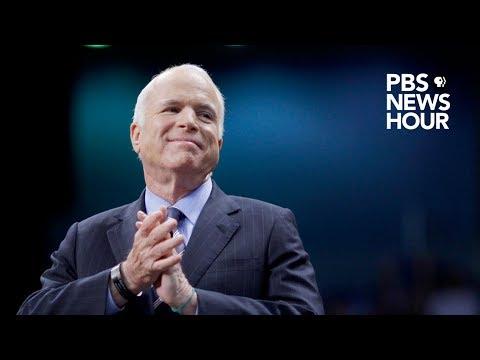 WATCH: Barack Obama, George W. Bush speak at John McCain memorial at National Cathedral