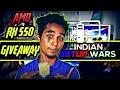 Indian setup war... ??? indian gaming season start now ... AMD rx 550 for giveaway ..