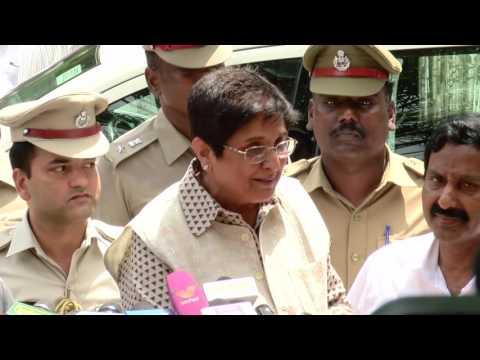 Jayalalitha News - Puducherry Governor Kiran Bedi Visits Apollo Hospital to Meet Jayalalitha