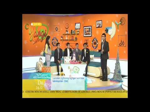 """AXROR BAXSHI YOSHLAR TV """"YANGI KUN"""" KO'RSATUVIDA ZAMONAVIY BAXSHILAR"""