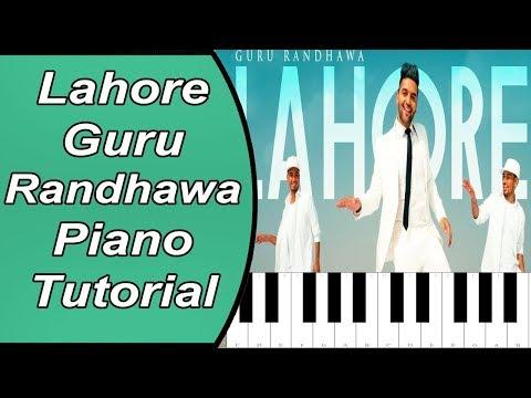 guru-randhawa:-lahore-|-piano-tutorial-with-notes-|