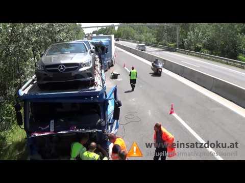 16072013 Lkw Unfall A4 Bruck an der Leitha