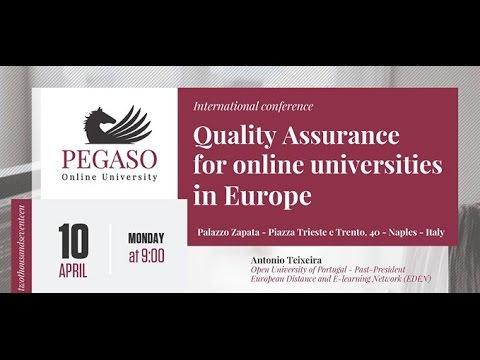 Quality Assurance for online universities in Europe (Matt.)