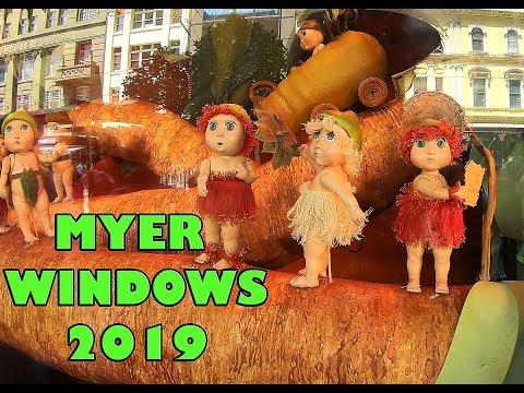 Myer Windows | MELBOURNE CITY 2019
