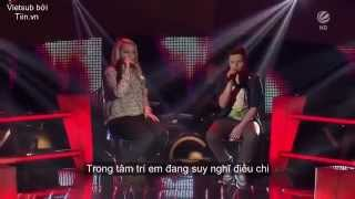 Repeat youtube video [VIETSUB] All Of Me - Richard ft. Jasmin - Live at The Voice Kids of Germany