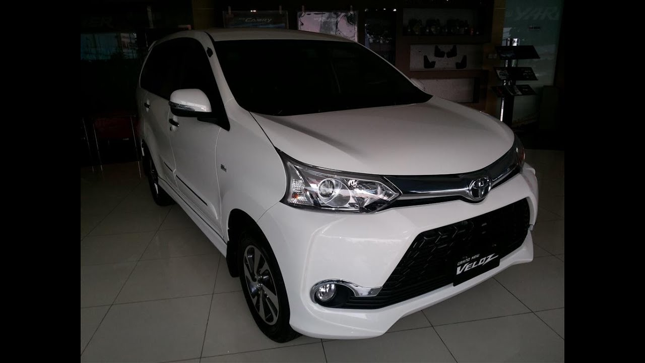 grand new toyota avanza 2015 kapasitas oli mesin veloz review exterior and interior youtube