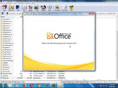 Microsoft Office 2010 Download and Install on window 7