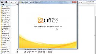 Gambar cover Microsoft Office 2010 Download and Install on window 7