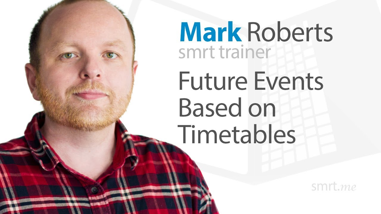 Future Events Based on Timetables