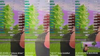 Ryzen 5 2500U Vega 8 - Driver Test - Fortnite: Battle Royale (HP Envy x360 2017)