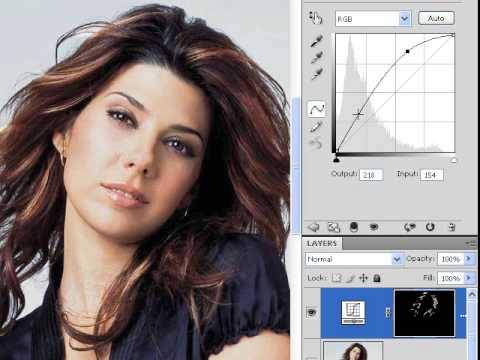 Adding highlights to hair photoshop cs4 lesson 16 youtube pmusecretfo Gallery