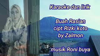 Karaoke Buah Rasian Cipt Rizki Koto By Zalmon Versi Roni Buya