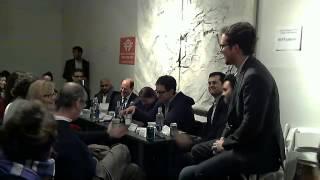 Software Patents Debate Jan. 17, 2013