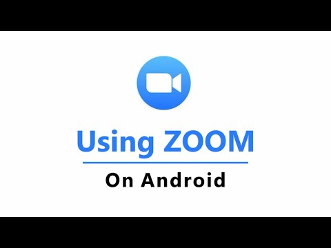Using Zoom To Attend A Congregation Meeting On An Android Tablet