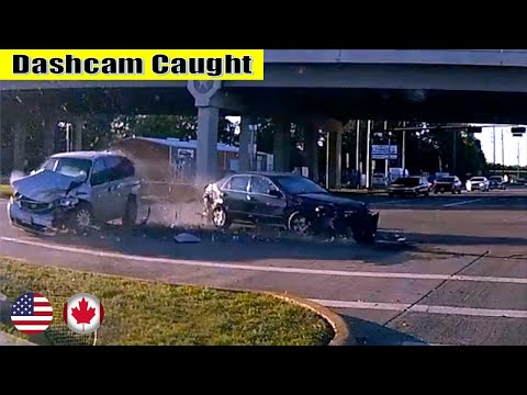 Ultimate North American Cars Driving Fails Compilation - 150 [Dash Cam Caught Video]