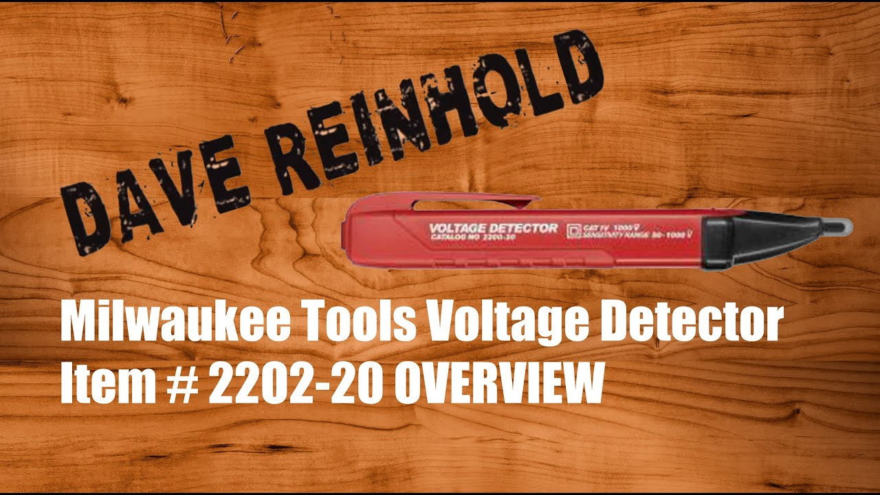 Milwaukee Voltage Detector 2202 20 Youtube Ac Circuit Quality Non Contact