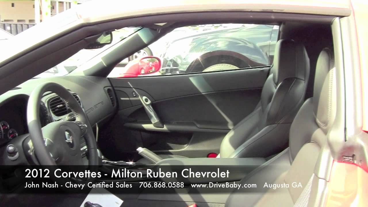 Superior 2012 Corvettes   Milton Ruben Chevrolet   Augusta GA