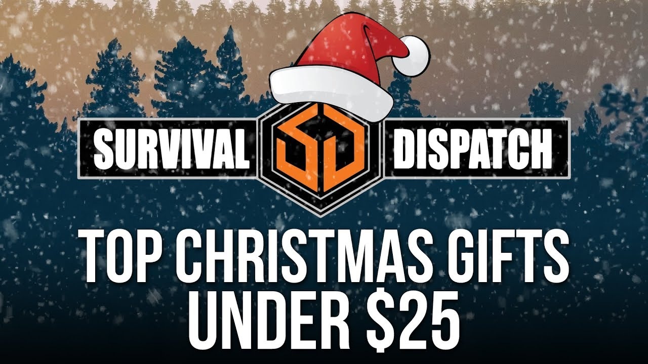 Top Prepper and Survivalist Christmas Gifts - Gifts Under $25