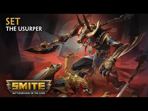 SMITE - God Reveal - Set, The Usurper