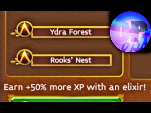Arcane Legends Gameplay Ydra Forest (#2 Year Forest & Rook's Nest) Level 41 Rouge | Combo Elixir Run