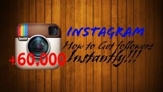 How To Get INSTANT Instagram Followers for FREE NO FOLLOW & UNFOLLOW Or SURVEYS