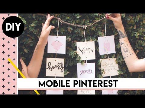 DIY de Decoração do Pinterest com Paty Sublinhando | by Aline Albino
