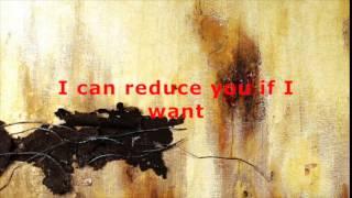 Nine Inch Nails   Big Man With A Gun lyrics