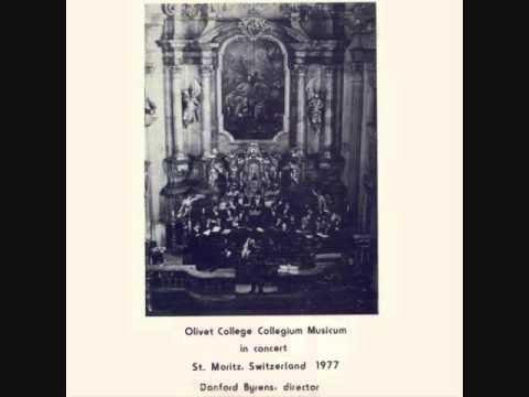 """Olivet College Collegium Musicum - """"Olivet College Alma Mater"""" - 1977"""