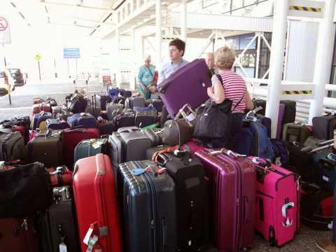 Celebrity Cruise luggage storage Santiago Chile airport