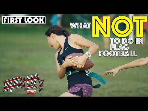 What NOT to do in Flag Football  MyEG Sportify  Astro SuperSport