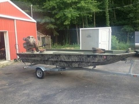 Duck Boats For Sale >> Used 2012 Tracker 16 Duck Boat For Sale In Gobles Michigan