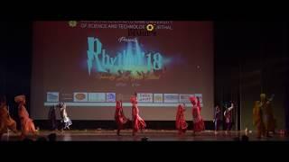 RPG FOLK DANCE|| RHYTHM 2K18 ||DCRUST MURTHAL|| DCRUSTDIARIES|| DCRUST ANNUAL FEST||