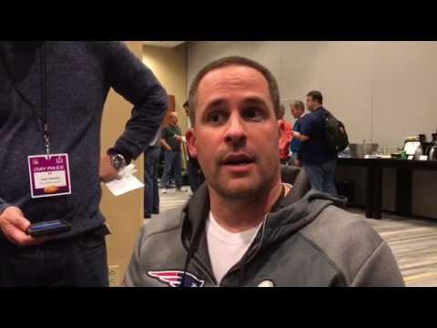 Patriots offensive coordinator Josh McDaniels talks about the Patriot offense.
