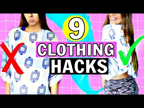 13 DIY CLOTHING LIFE HACKS You've NEVER Seen Before!