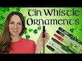 TIN WHISTLE ORNAMENTS | easy tutorial for beginners