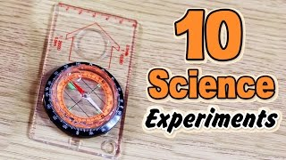 Cool Science Experiments That You Can Do At Home | Top 10 By HooplakidzLab