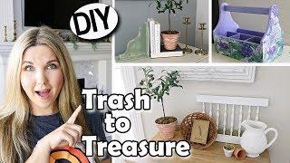 Trash to Treasure ⭐ Thrift Store Makeover DIY - Glamsocket GIVEAWAY!