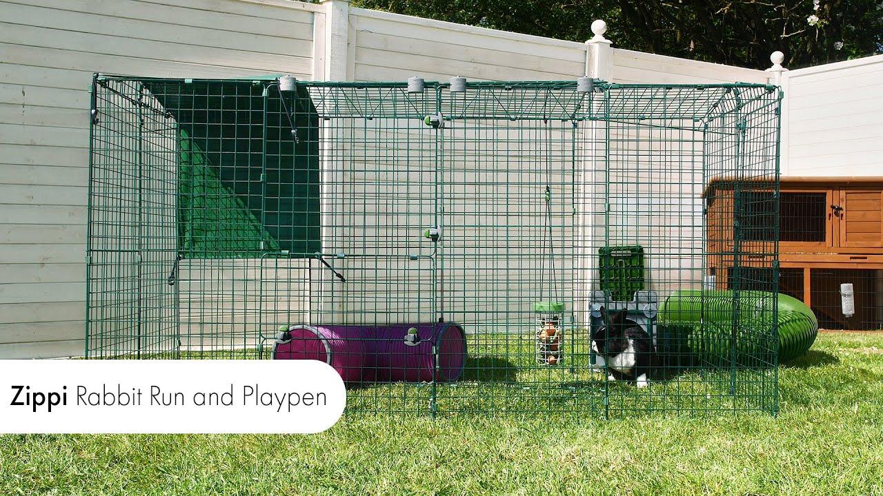 Rabbit Runs and Playpens - Zippi Outdoor Enclosures   Omlet Pet Products