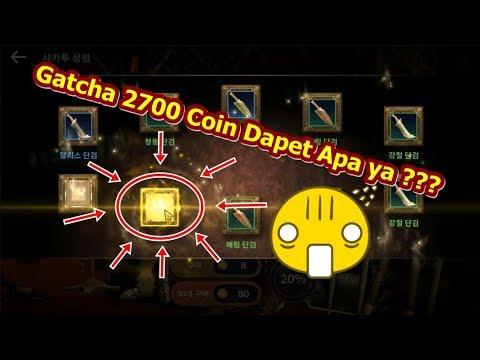 Gatcha 2700 Gold Coin Dapet Apa ya?? Black Desert Mobile (KR) Indonesia