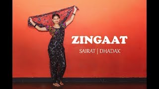 Zingaat Dance Choreography | Sairat | Dhadak | Dance With Manali