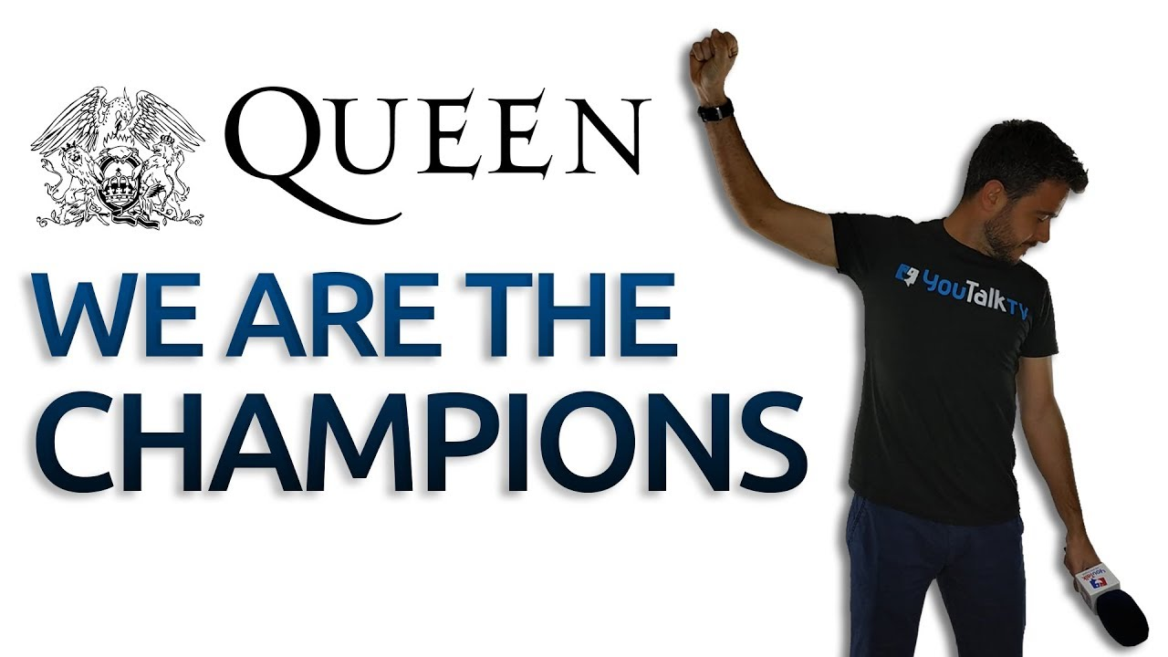 We Are The Champions Letra Aprende Inglés Con Queen