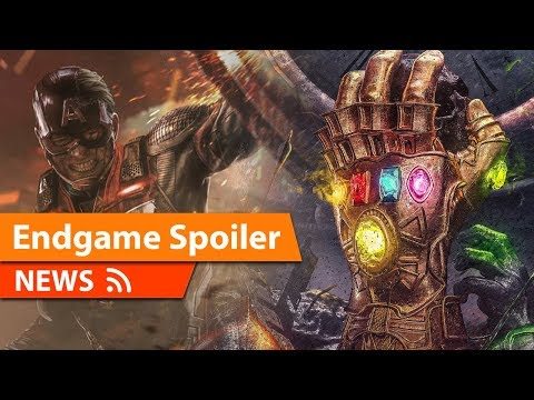 HUGE Avengers Endgame Spoiler Revealed