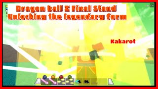 Dragon ball Z Final Stand episode 9 legendary Super Sayian ( ROBLOX)