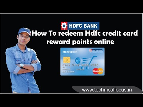 how-to-redeem-hdfc-credit-card-reward-points-online
