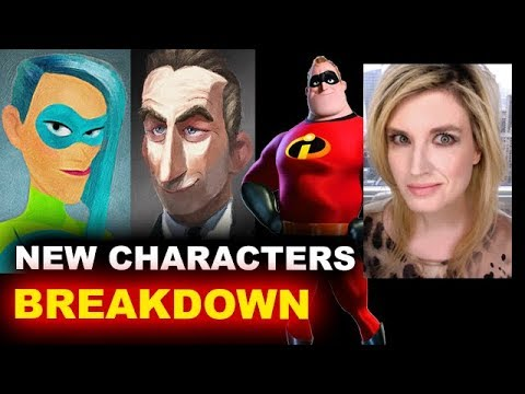 The Incredibles 2 New Characters Reaction Youtube